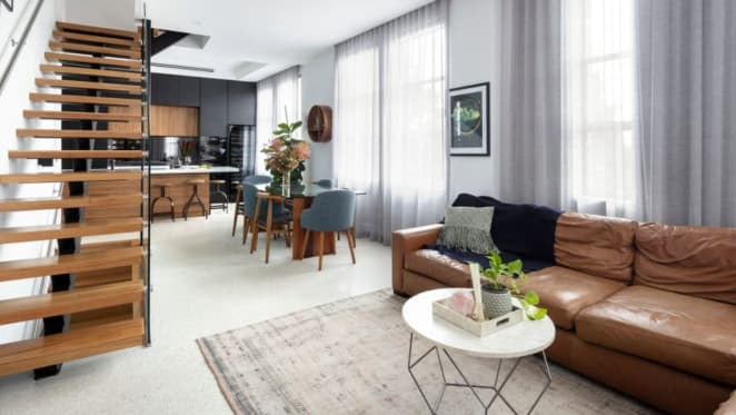 Apartment in Port Melbourne The Block 2016 conversion sold