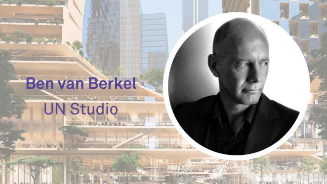 UN Studio's Ben van Berkel discusses the Green Spine