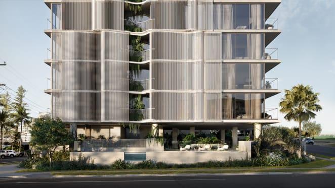 Hutchinson Builders to deliver Spyre Group's Coolangatta apartment project, Cala Dei