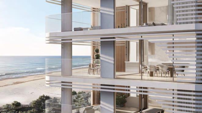 Gallery Group lodge plans for Surfers Paradise apartment development, Chalk