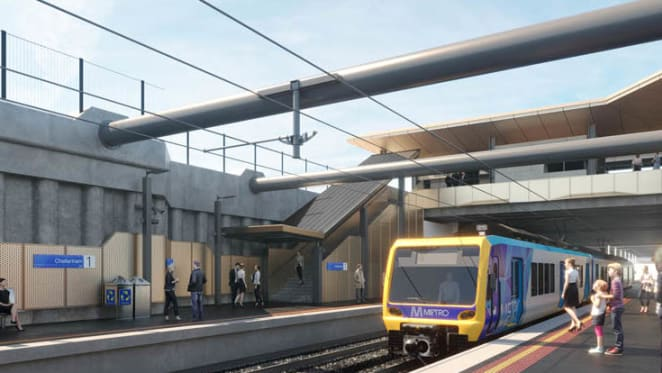 Frankston line to see multiple shutdowns as more level crossings are set to go in 2020