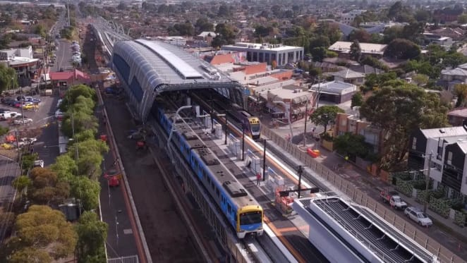 Final Dandenong corridor construction blitz, upgrade of service frequencies announced