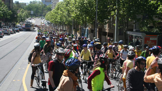 More people will cycle when everyone accepts cyclists' right to be on the road