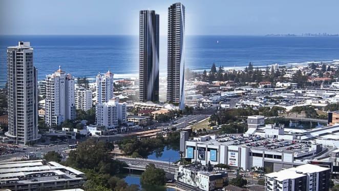 Stalled Elegance, Mermaid Beach apartment development site listed