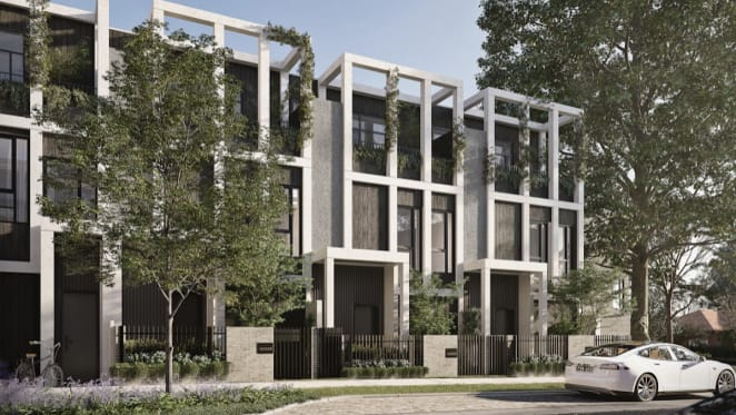 Five apartments and townhouses being built alongside Australia's best-known racecourses