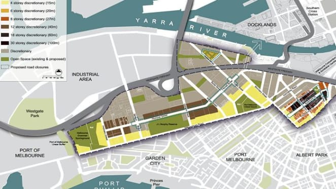 Who's driving the Fishermans Bend bus beyond the upcoming election?