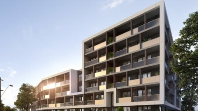 Boutique collection of one and two bedroom apartments at Jackson Green