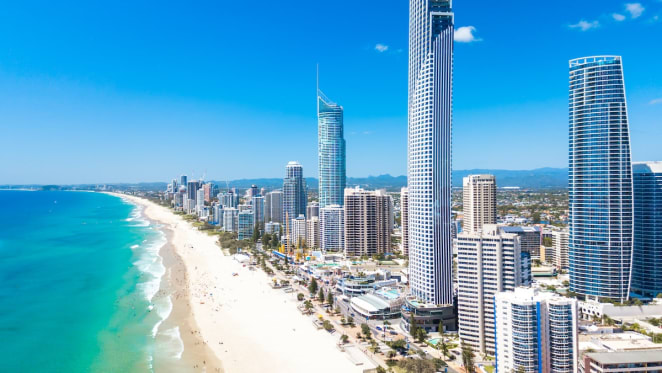 Surfers Paradise is Australia's most traded apartment market