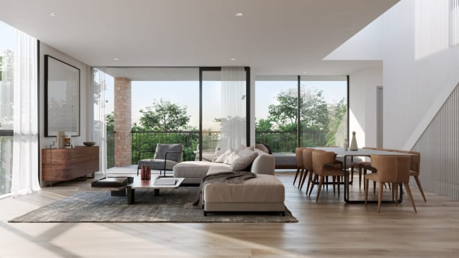 Bates Smart studio director Mark Healey discusses Lendlease's Gramercy Terraces in Richmond