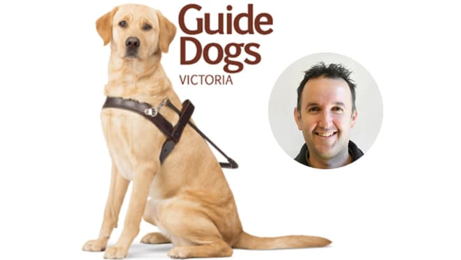 Guide Dogs Victoria's Luke Price discusses accessibility of developments in Australia