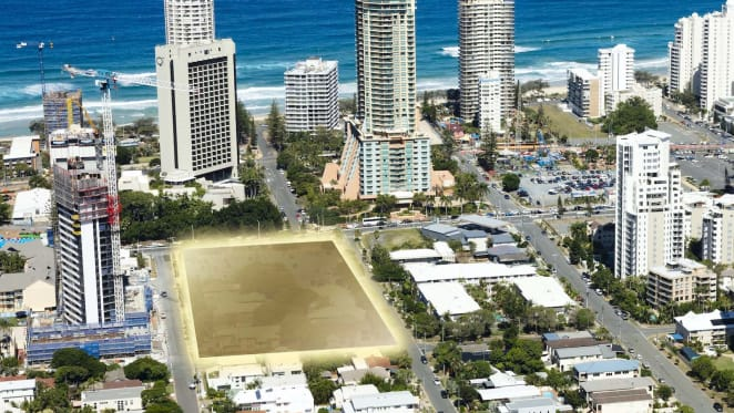 Gurner to create $600 million mixed-use tower in Surfers Paradise