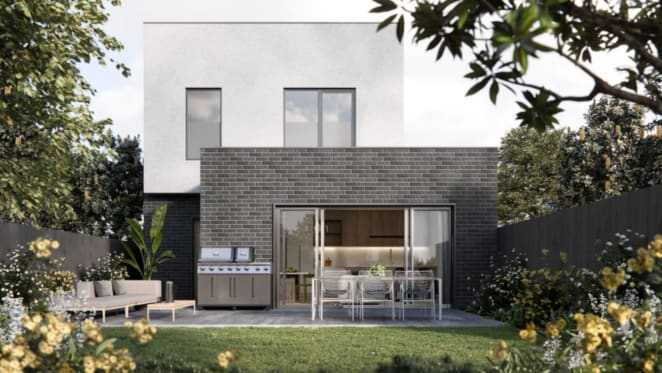 Haven Townhomes in Keysborough more than 75% sold