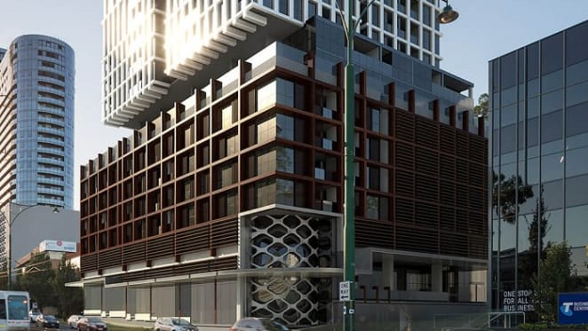 Doubletree by Hilton and East Central Tower define LongRiver's Box Hill aspirations