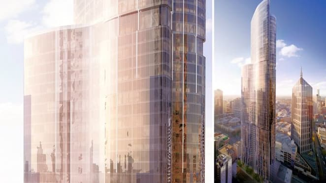 The CBD's tallest building officially begins construction
