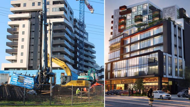 Two significant suburban projects break ground