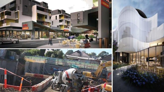 Nicholson Street's apartment activity slips into top gear
