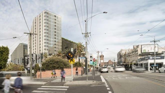 Malvern's mega development site curtailed but still imposing
