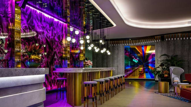 Profiling Studio Ongarato's quirky and incredible W Brisbane interior designs