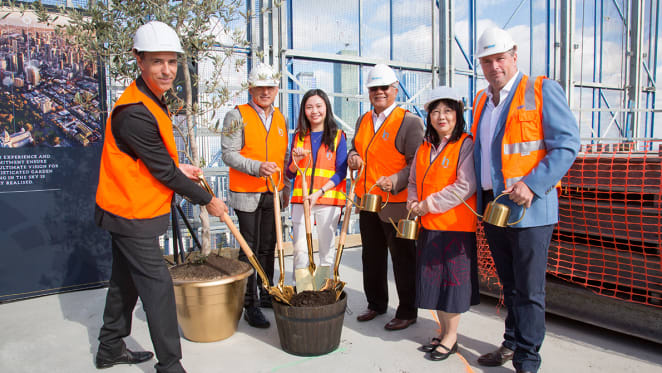 UEM Sunrise's Conservatory tops out; Aurora approaches the 200 metre mark
