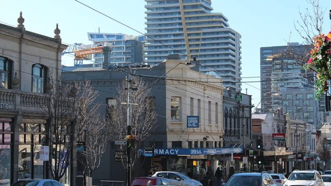 Is Melbourne's apartment boom concentrated in the inner city?