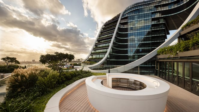 Infinity by Crown Group at Green Square takes out the Urban Developer's Development of the Year award in its high density residential category