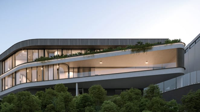 Off the plan luxury home sales popular with wealthy Brisbane buyers