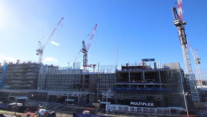 M-City construction update