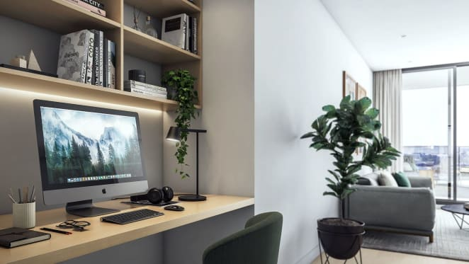 Investor tips for creating the ideal study zone in your inner-city apartment