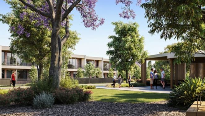 The on site amenities on offer at the green masterplanned community LUMA in Melbourne's Sunshine North