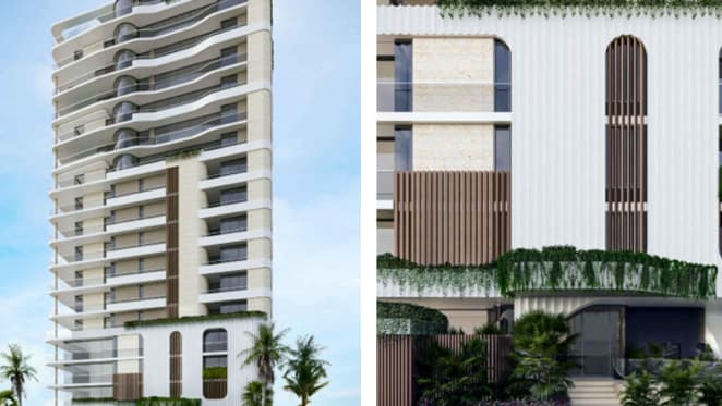 Tower reveal: $100 million tower proposed for Four Corners, 3519 Main Beach Parade, Surfers Paradise site
