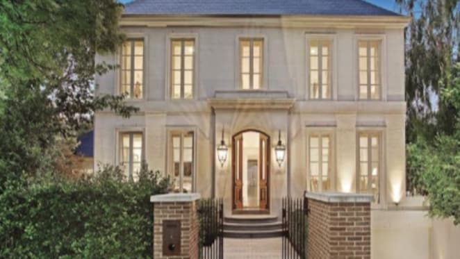 The Toorak home when Calombaris bought it in 2013