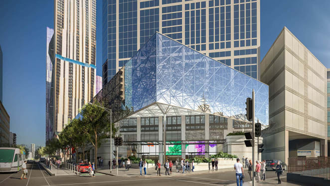It's Back to the Future for Melbourne Central Tower's lobby upgrade
