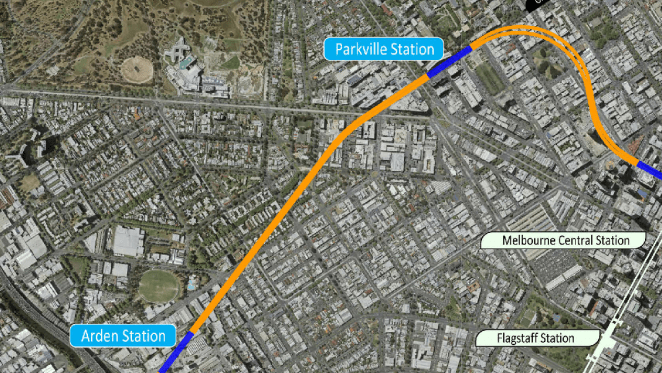 Melbourne Metro: new indicative alignment maps published