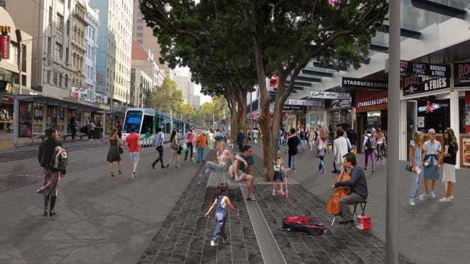 City of Melbourne finalises Elizabeth Street upgrade plans