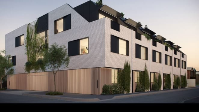 Newry Street setting the standard for inner city townhouses