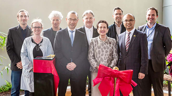 Lord Mayor officially opens Greenland Australia's Omnia in Potts Point