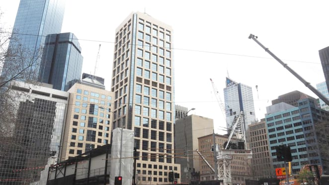 Three Collins Street projects begin their skyward ascent