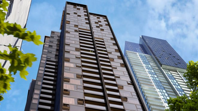 Nestled in the heart of Southbank, Palladium Tower brings light-filled, quality apartments