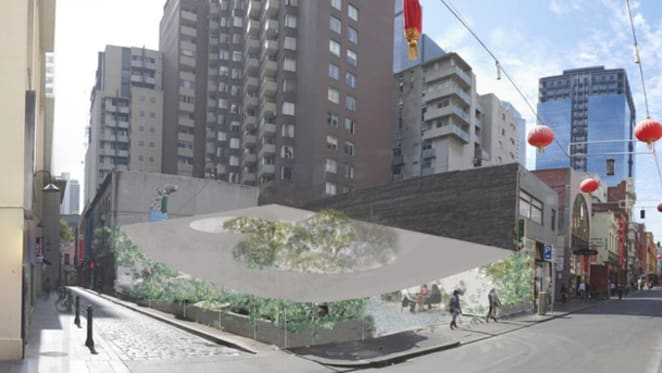 'Park' development proposed for Melbourne's Chinatown sparks debate
