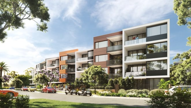 Final homes on offer at the Peninsula Collection gated community development on Hope Island