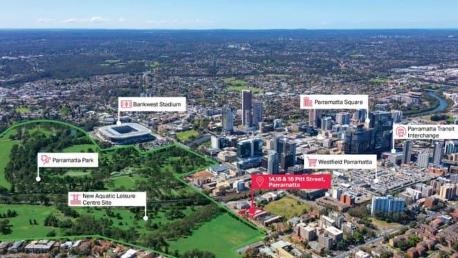 Development opportunity: Three adjoining Parramatta properties listed for $13.8 million