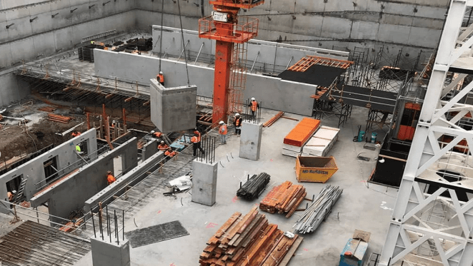 East Central Tower construction update