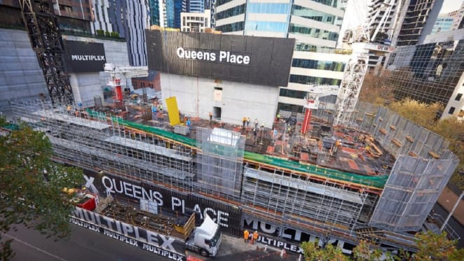 Queens Place construction update