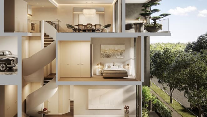 R.Corporation release boutique townhouse collection at South Melbourne project R.Iconic