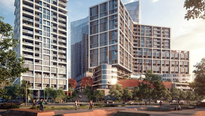 The tallest building in the nation's capital gets the nod, starts construction