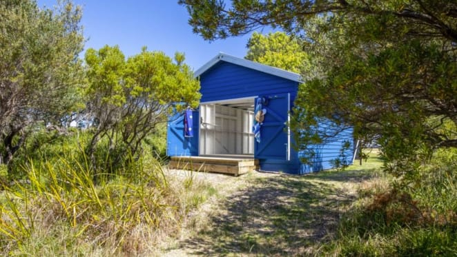 Renovated Rye bathing box sold for $170,000
