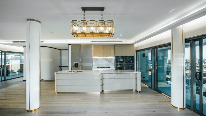 First look at Omnia's The Regal penthouse before buyers move in