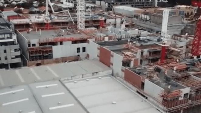 East Brunswick Village construction update