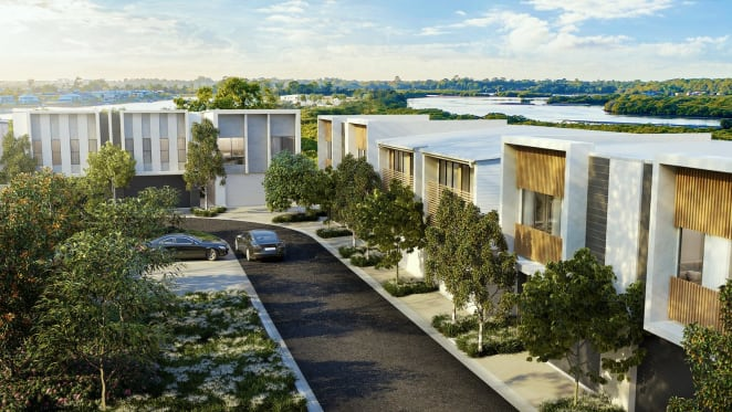 Take a look at Keylin and Kinstone's Helensvale development as house and townhouse construction begins