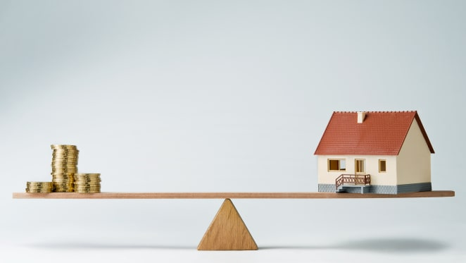 How much are you required to save for a house?